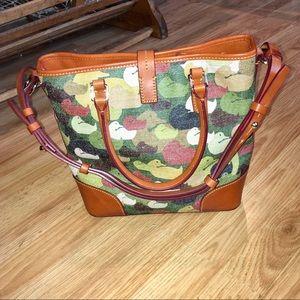 Dooney & Bourke Bags - NWOT Dooney & Bourke Cayden Medium Tote Camo Duck